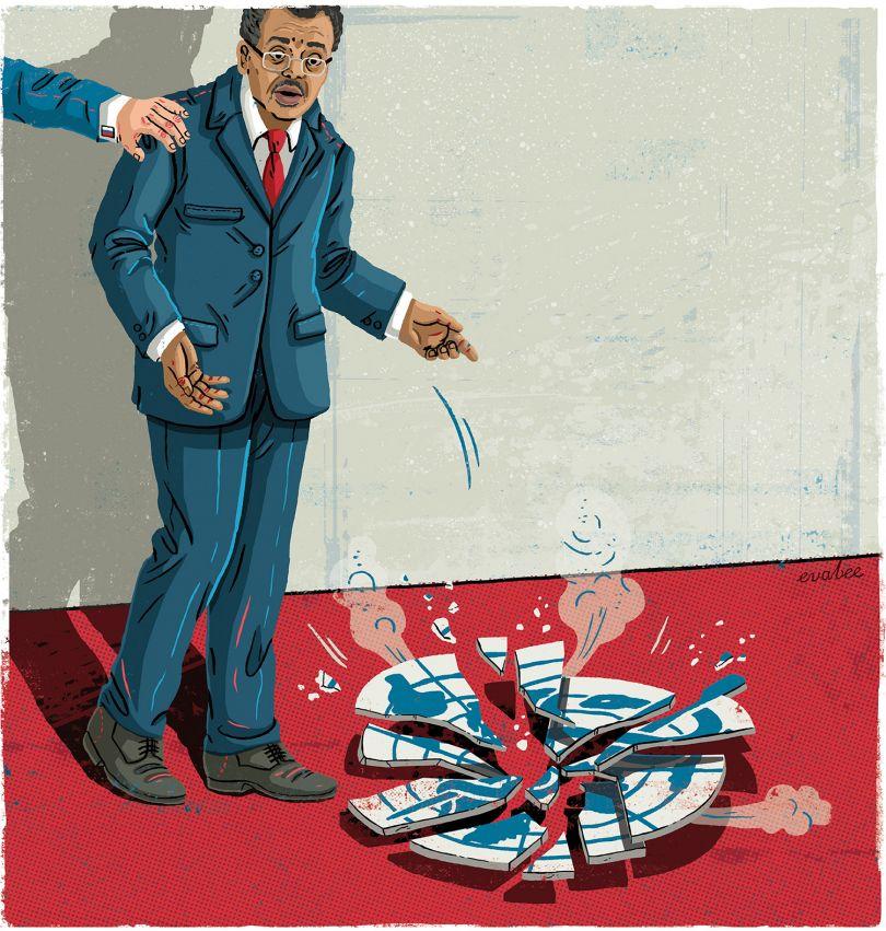 Politico Europe: Cover illustration