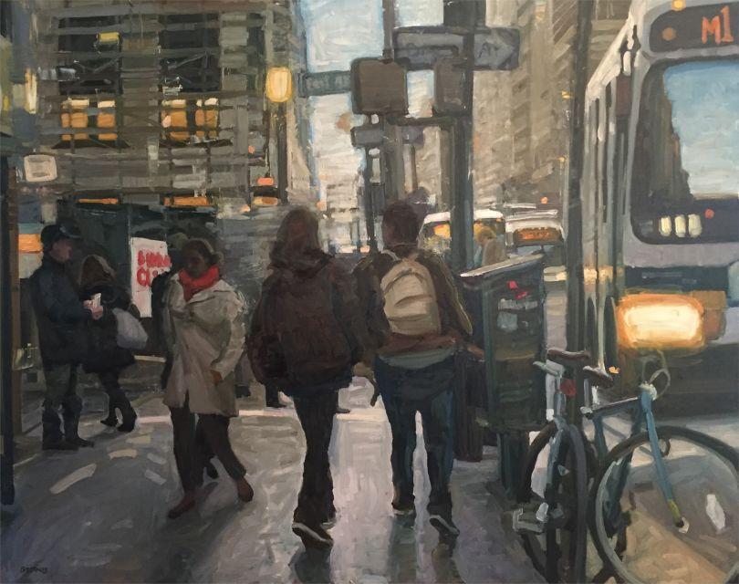 New York Walkway © Jim Beckner