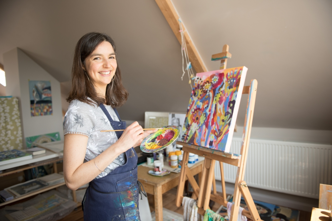 Trudi Murray Thoughts On Painting Doing What You Love