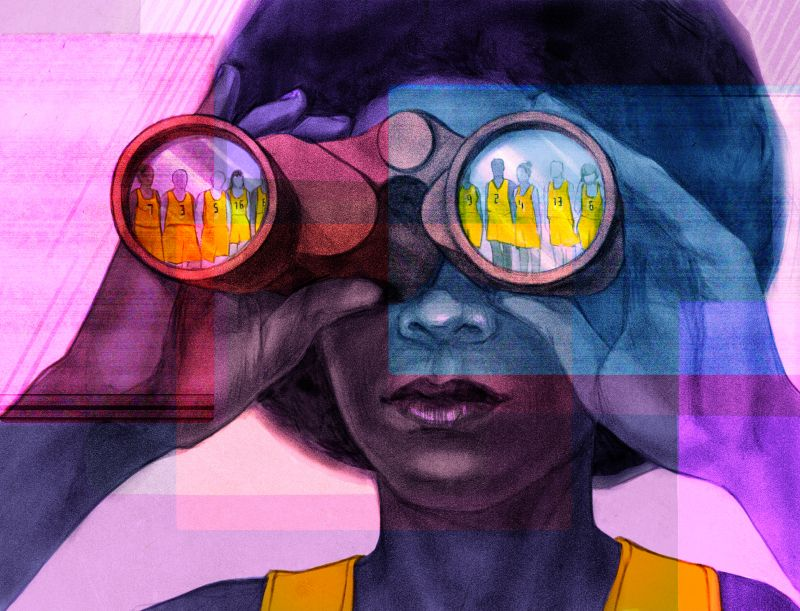 Ūla Šveikauskaitė imagines a dystopian future with her deliciously dark illustrations
