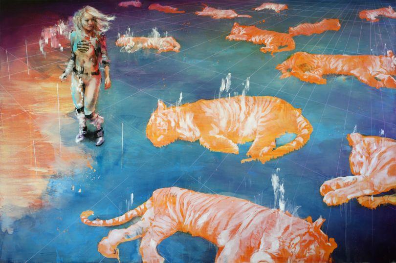 Sleeping Tigers © Ian Francis
