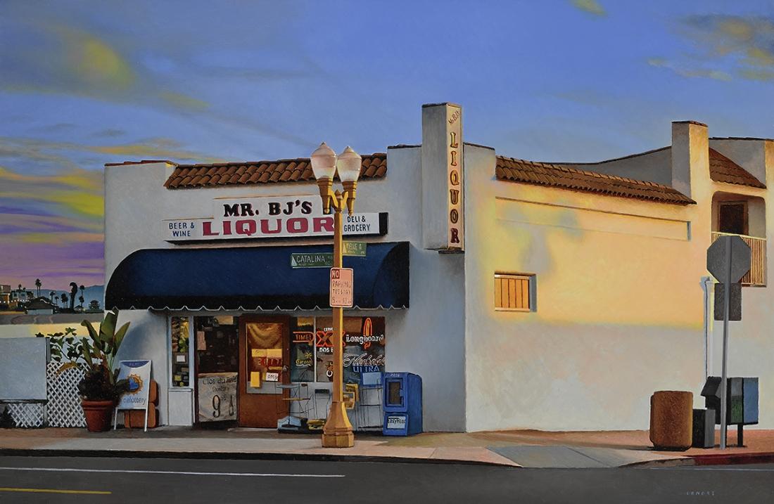 Joan Longas, The golden light, mixed media, 65x100cm, 2018