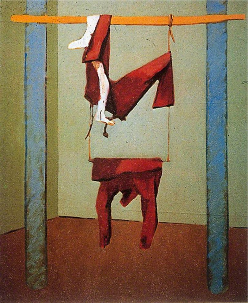 Victor Willing, Swing, 1978, oil on canvas © The Artist's Estate. Pallant House Gallery, Chichester, on loan from Colin St John Wilson, since 2004