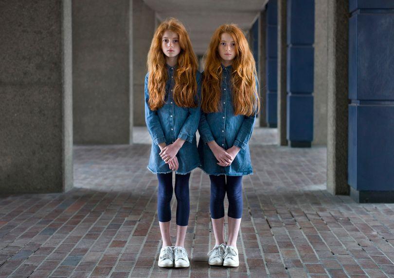 Chloe and Leah. © Peter Zelewski