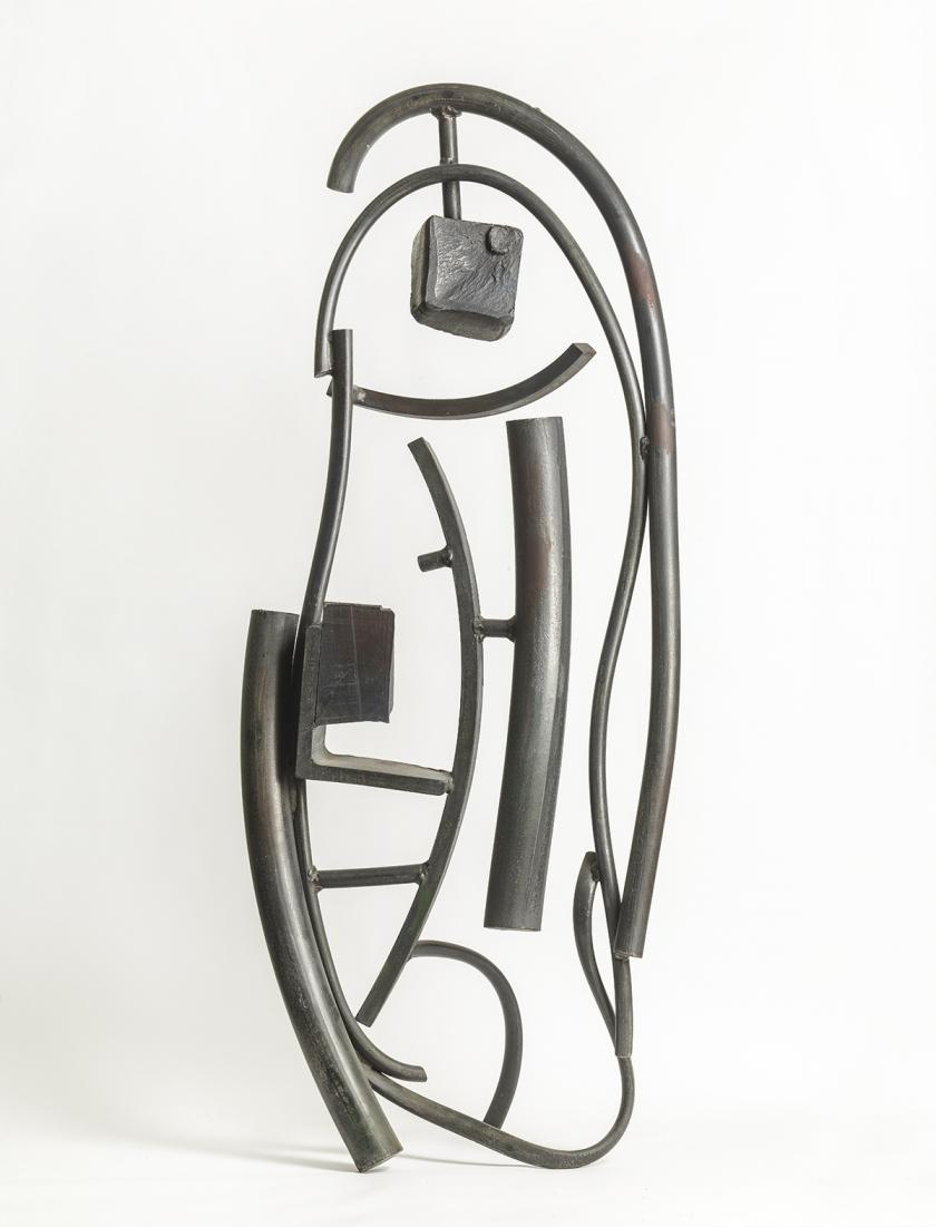 Janus, 1982, Zinc coated steel, Unique, 145 x 57 x 38 cm, Unique, POA