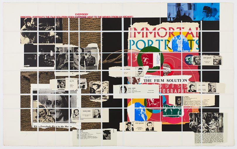 R.B. Kitaj Immortal Portraits, 1972 screenprint Courtesy Marlborough Fine Art