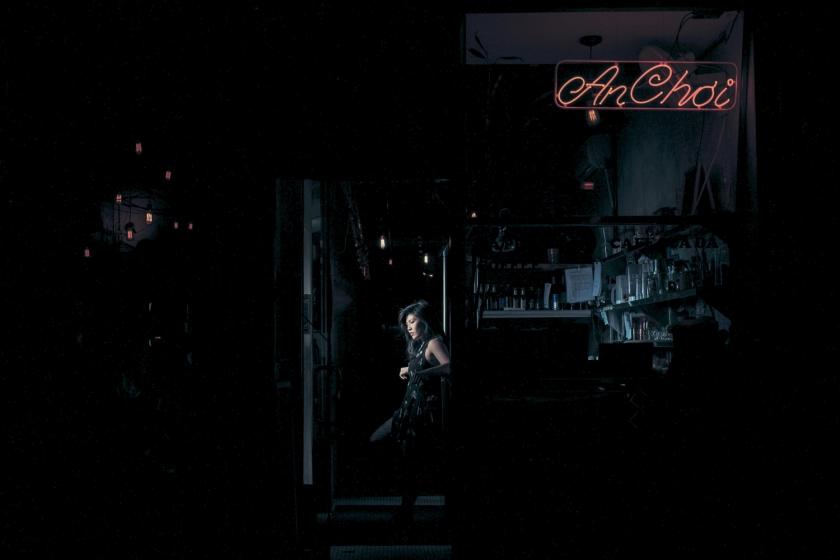 Carolina Do, actress & waitress at An Choi