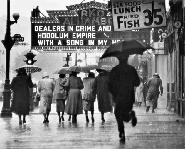 Gordon Parks. Harlem Neighborhood, Harlem, New York, 1952. The Gordon Parks Foundation.