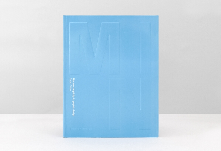 New book dispels the cliches of minimalist graphic design for Minimalist book design