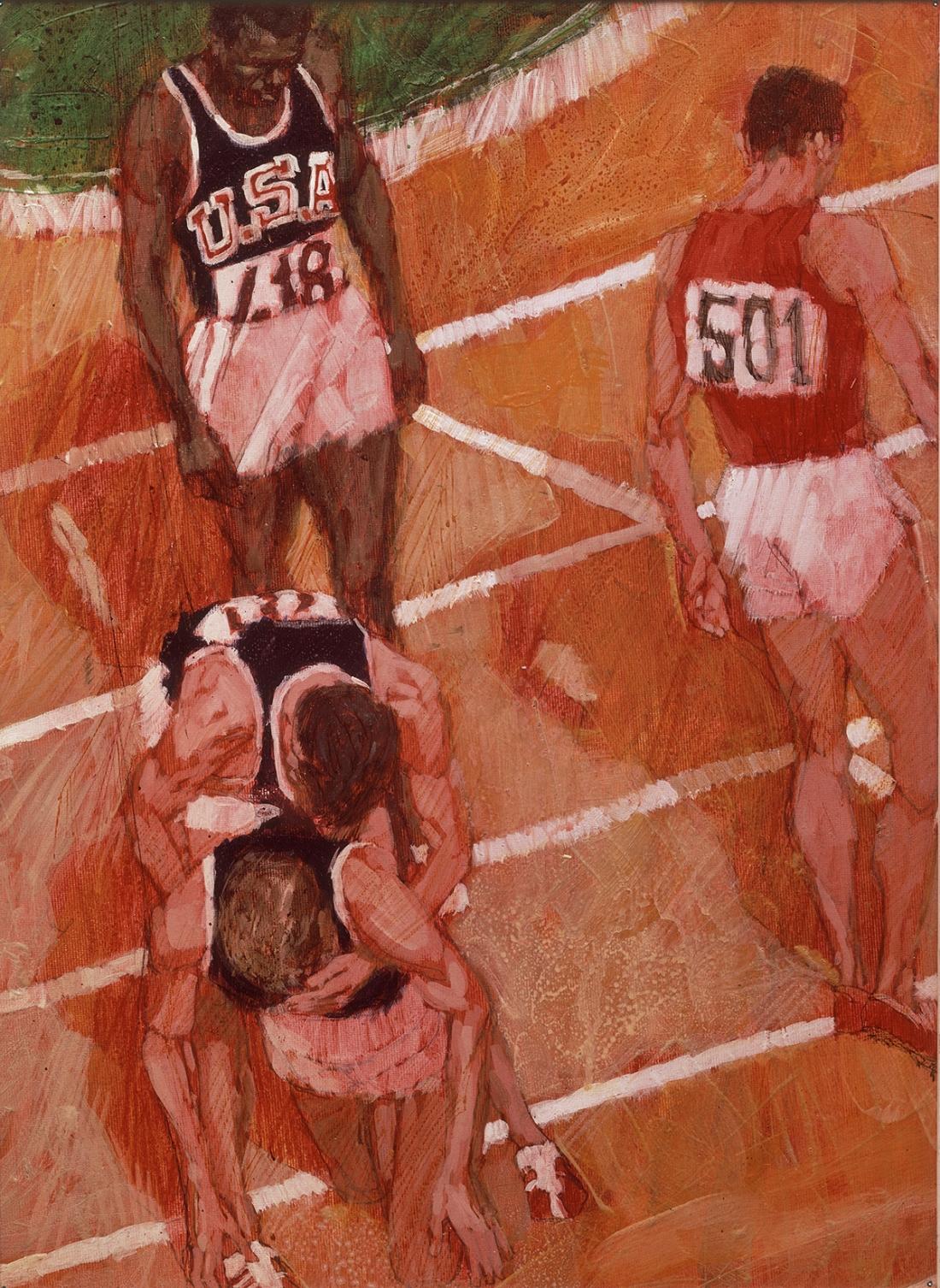 Olympic illustration, 1965