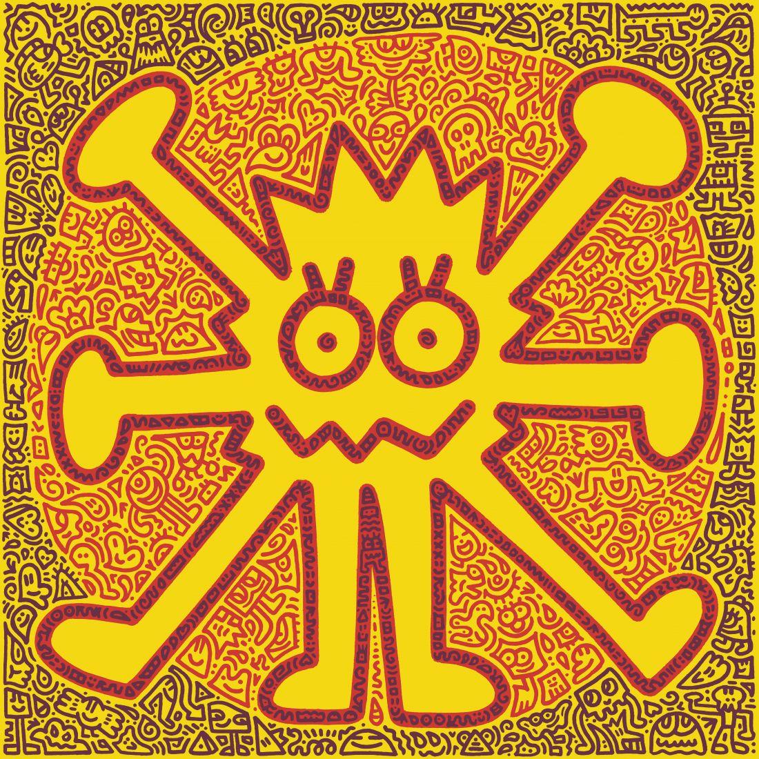Mr Doodle, Vitruvian Doodle, 2019