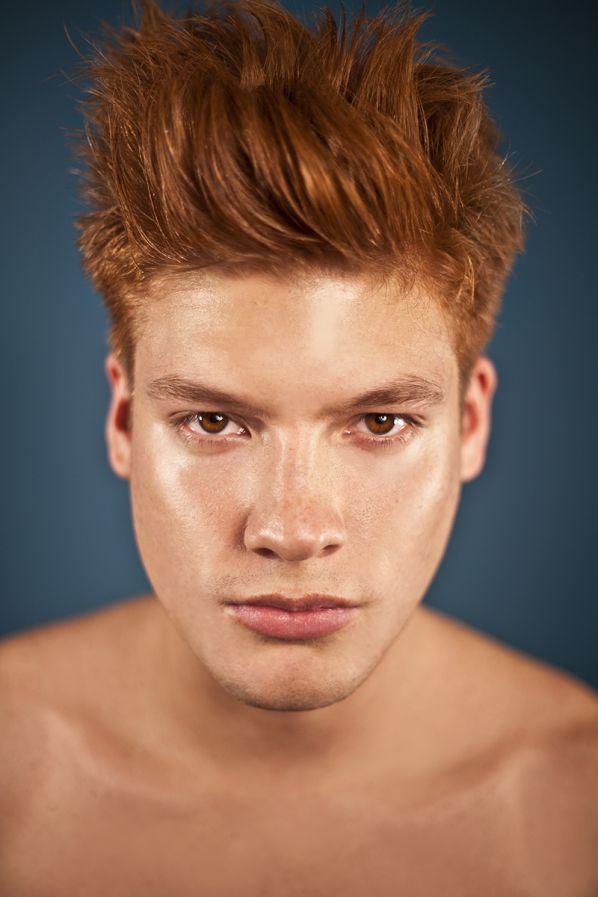 Photography model redhead exhibit erotic