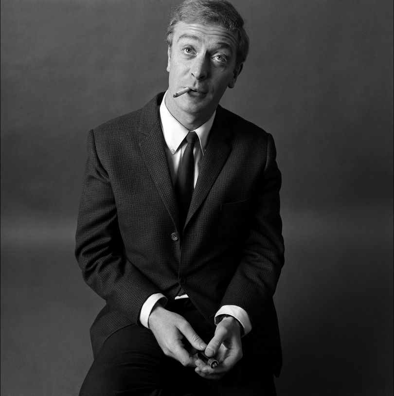 Michael Caine Smoking, 1964. Photo Duffy © Duffy Archive