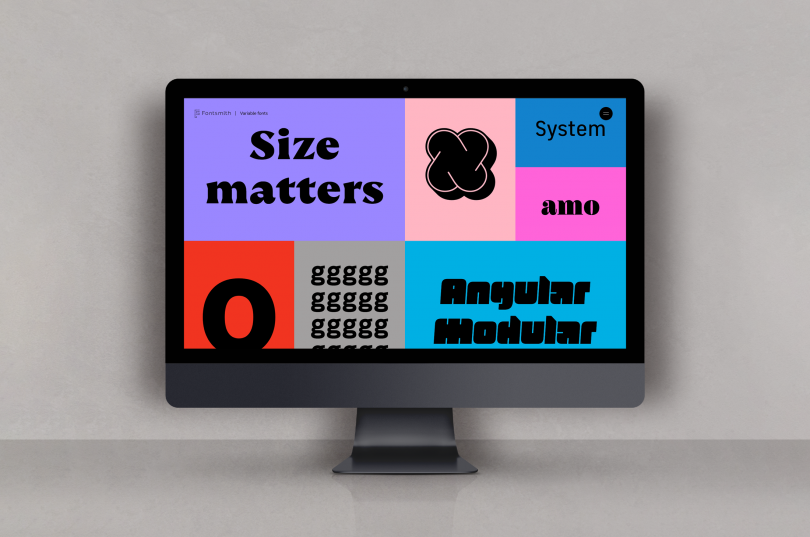 All images courtesy of Fontsmith, via submission