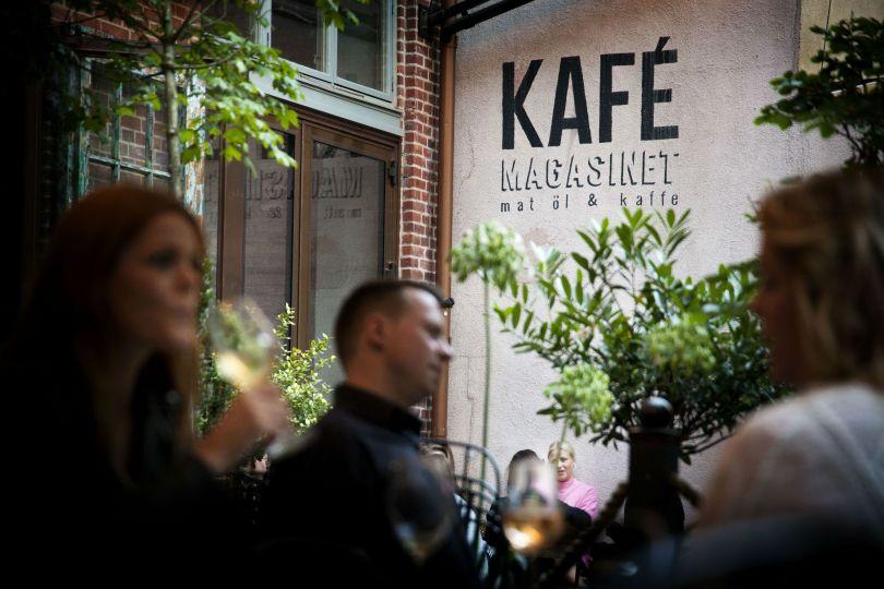 Kafé Magasinet, café and bar at Tredje Långgatan. © Frida Winter/Göteborg & Co