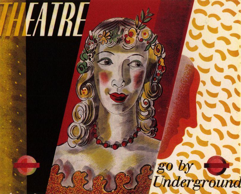 Barnett Freedman, London Transport poster, 1936, Private Collection © Barnett Freedman Estate