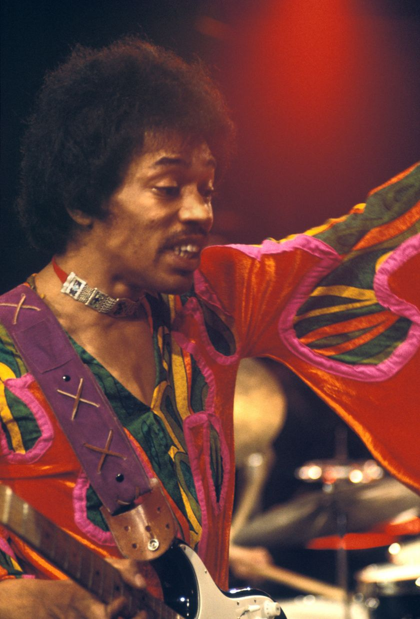 Charles Everest, Jimi (Sleeve), Isle of Wight 1970, © Charles Everest | CameronLife Photo Library
