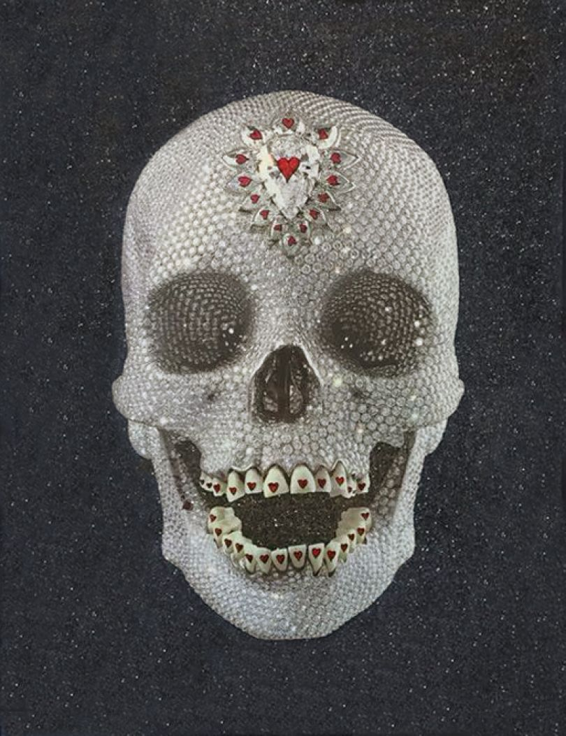 Damien Hirst, For the Love of God, Enlightenment, 2012