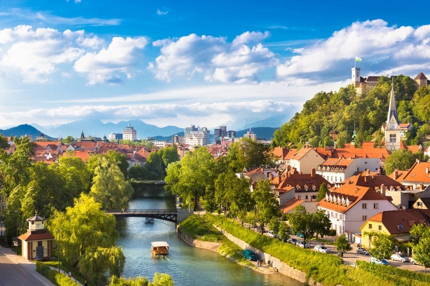 View of Ljubljana