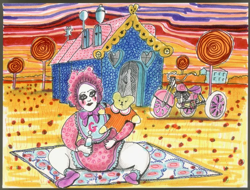Grayson Perry, A Letter in Mind 2015