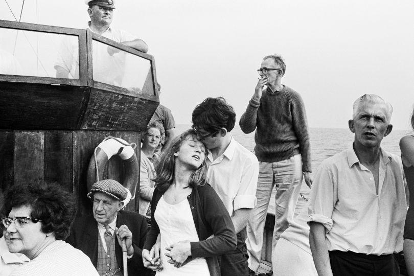 Beachy Head boat trip, 1967 © Tony Ray-Jones. Via Creative Boom submission. All images courtesy of Martin Parr Foundation.
