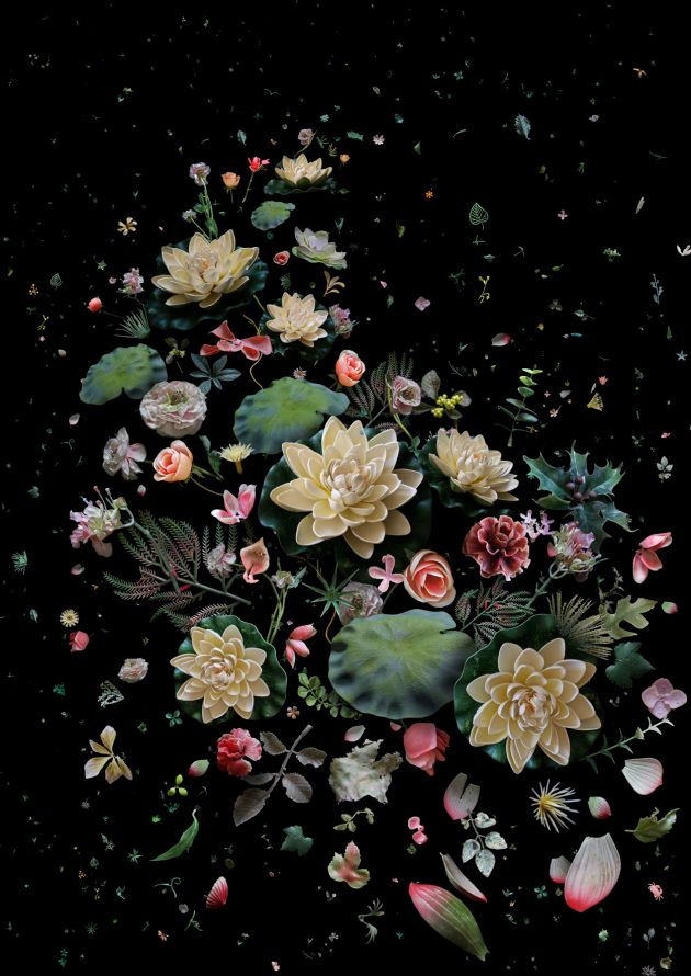 Mandy Barker, Hong Kong Soup Lotus Garden 2015 image courtesy of the artist.