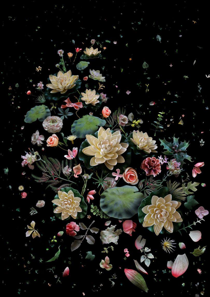 Mandy Barker, Hong Kong Soup Lotus Garden 2015 image courtesy of the artist.