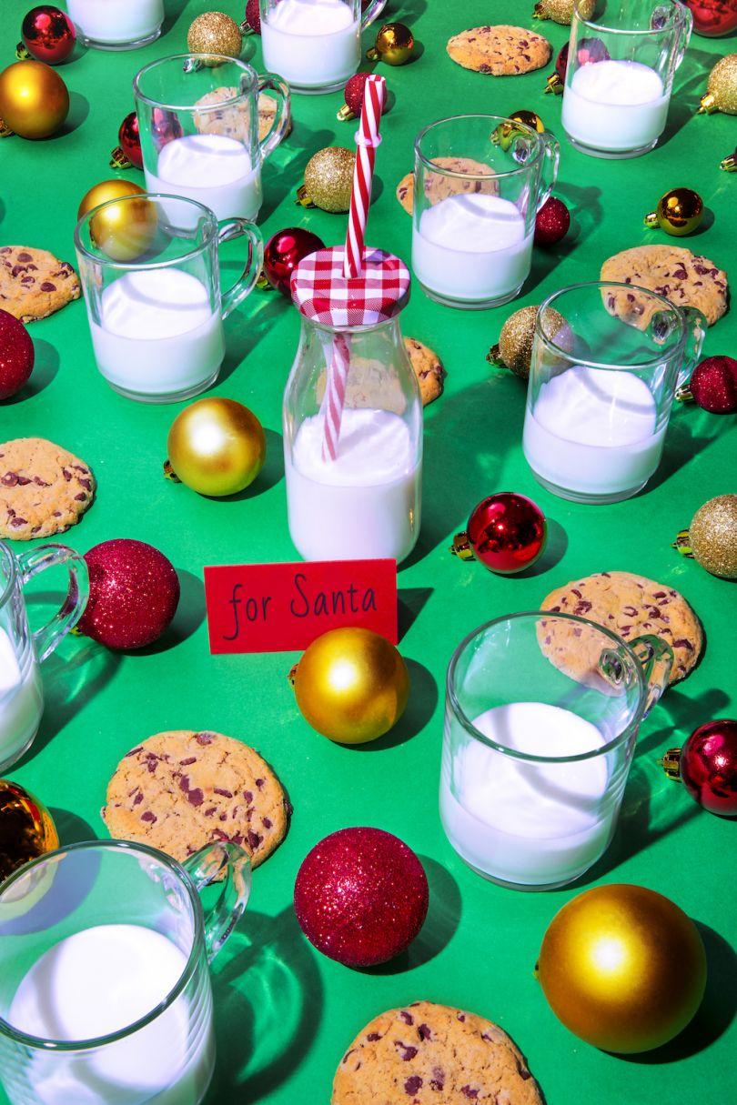 Santa Claus / Cookies and Milk - © Dan Bannino