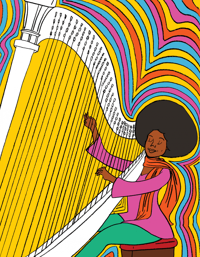Alice Coltrane, from the book A Black Woman Did That