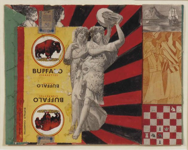 Pauline Boty, Untitled (Buffalo), 1960/61. Courtesy of Gazelli Art House