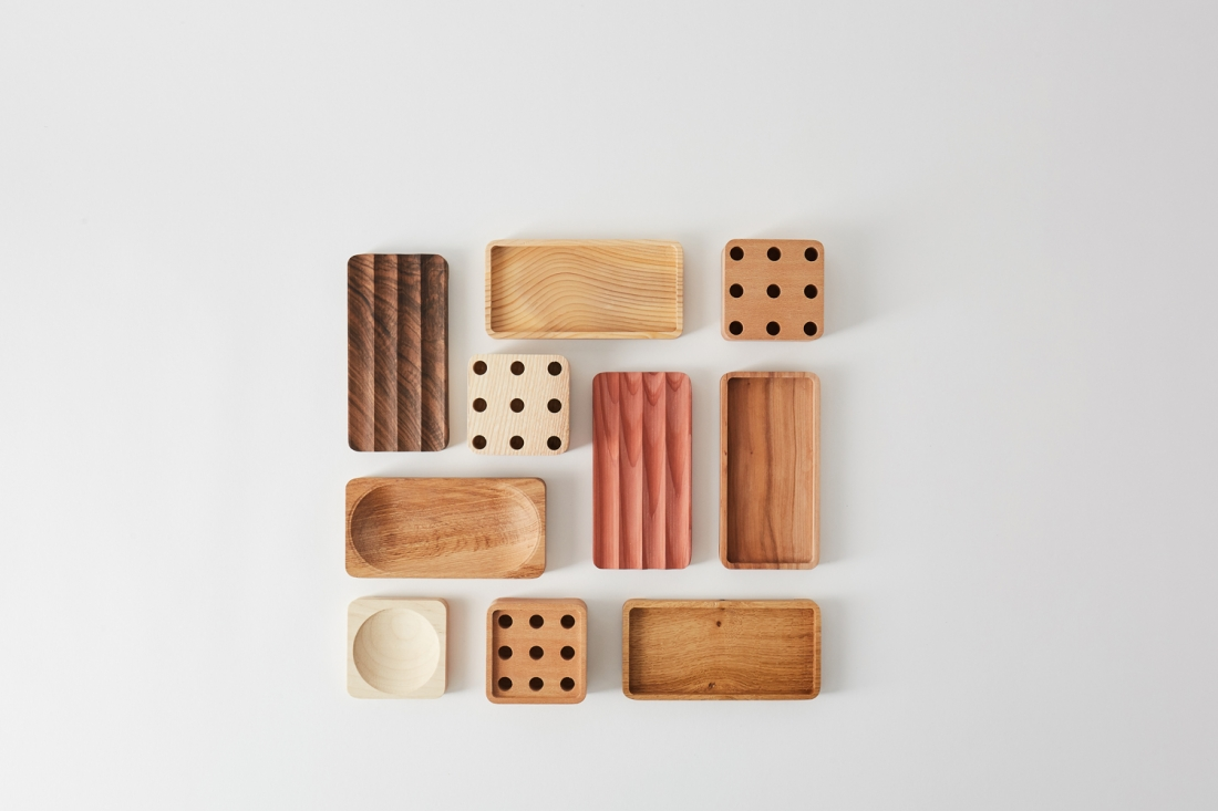Offcut Sebastian Crafts New Desk Accessories From Offcuts Of British Hardwood