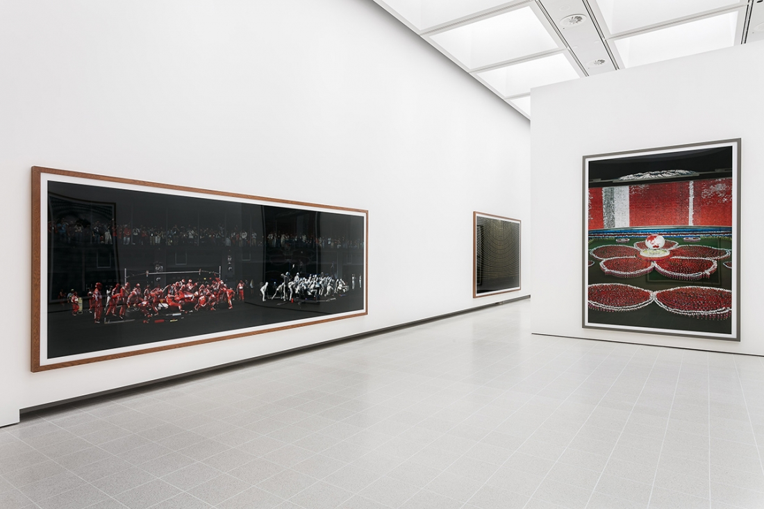 Installation images, Andreas Gursky at Hayward Gallery 25 January - 22 April 2018. Credit: Mark Blower