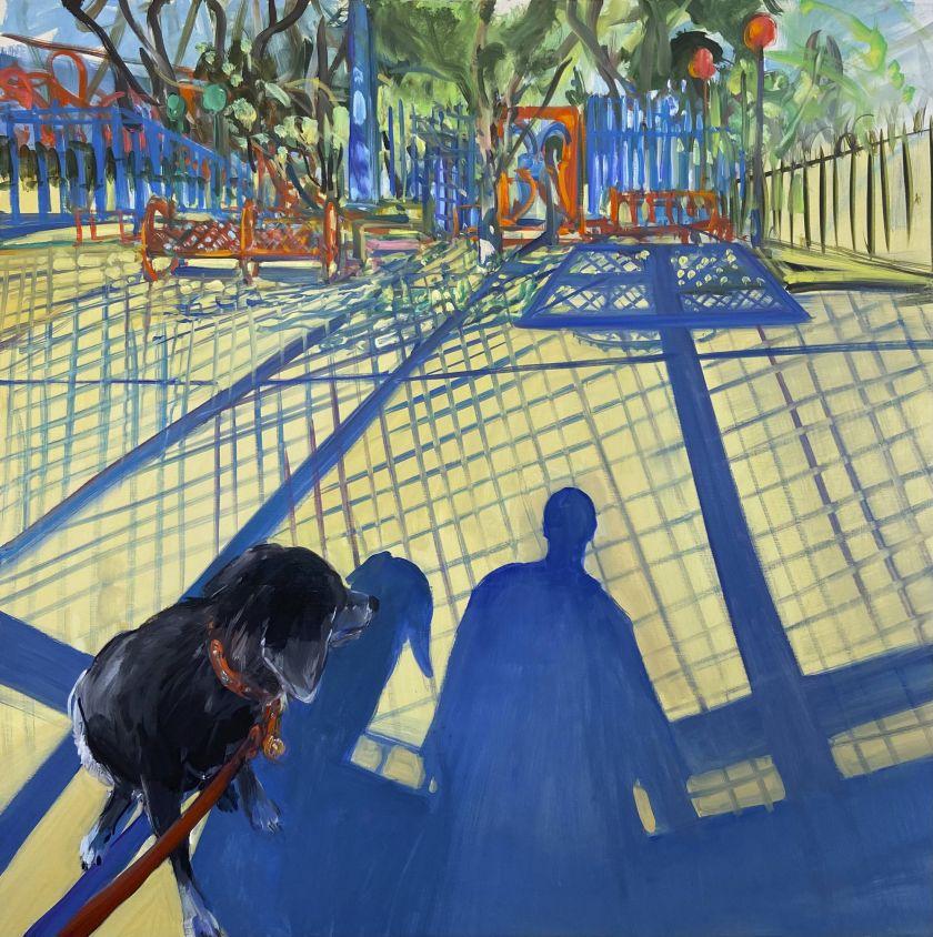 Hoop, 2021 © Deborah Brown. Courtesy of Anna Zorina Gallery