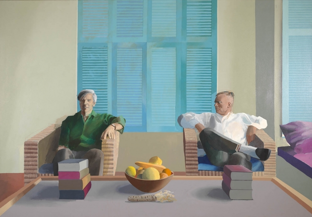 David Hockney – Christopher Isherwood and Don Bachardy, 1968. © David Hockney