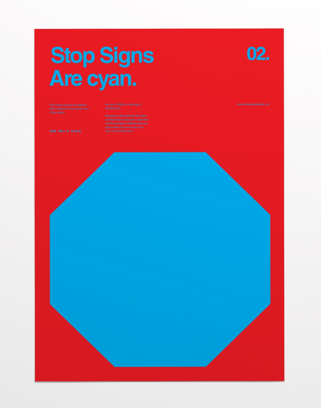 Nick Barclays Minimalist Series Explores RGB And Shows Us The - Minimal movie posters nick barclay