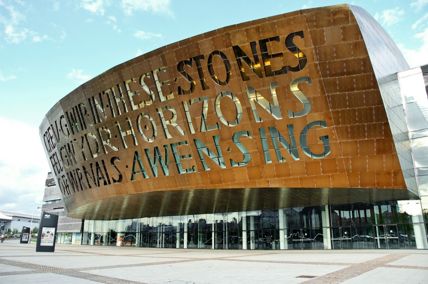 Wales Millennium Centre. Image Credit: [Shutterstock.com](http://www.shutterstock.com/cat.mhtml?lang=en&search_source=search_form&version=llv1&anyorall=all&safesearch=1&searchterm=cardiff&search_group=#id=25835233&src=AQiN2ntVJB6hLcAVKGRKDw-1-5)