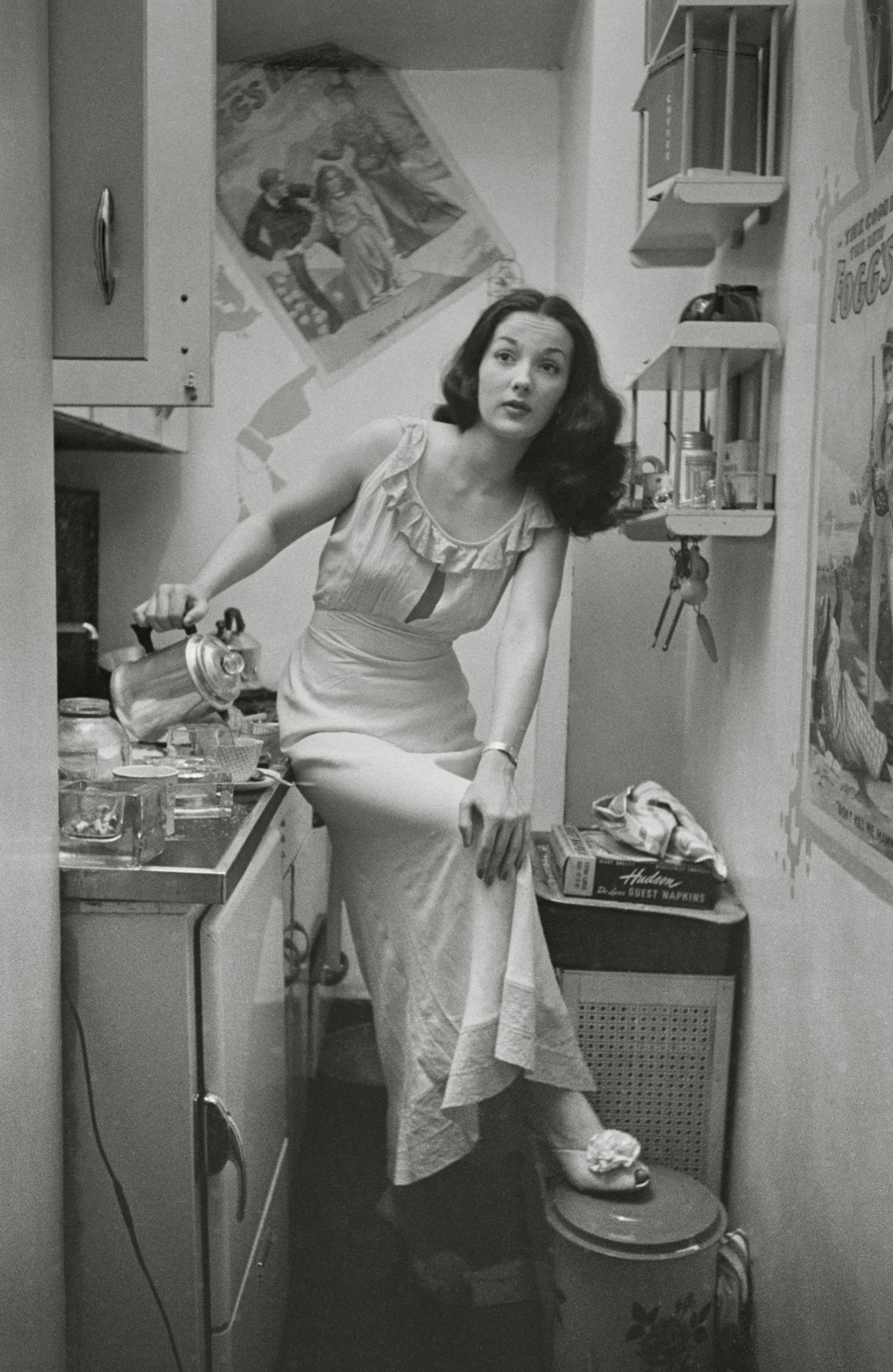 """Stanley Kubrick, from """"Rosemary Williams - Showgirl,"""" 1948. Copyright: © SK Film Archives/Museum of the City of New York"""