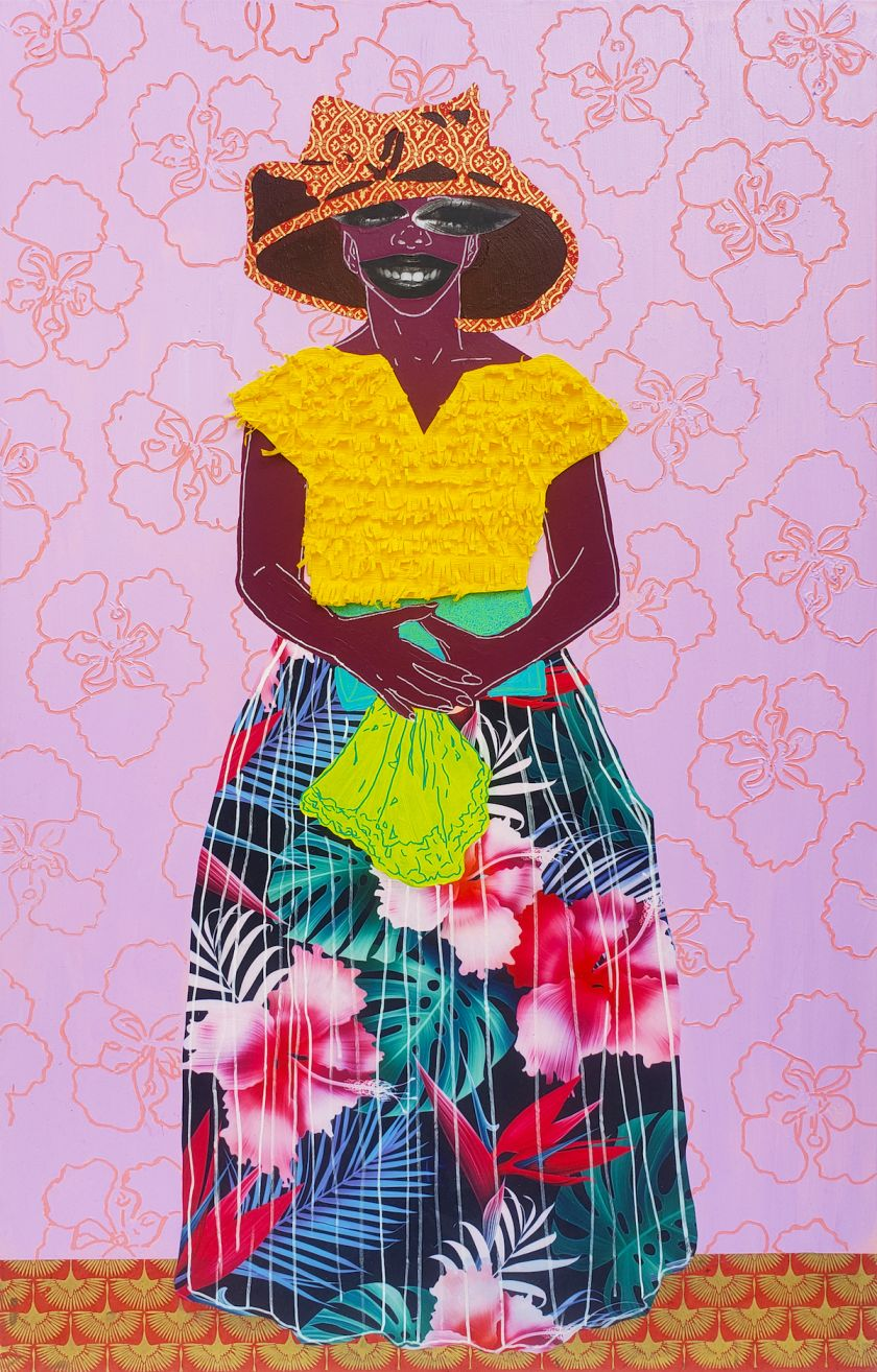 Cydne Jasmin Coleby Blossomed (Patricia II), 2021