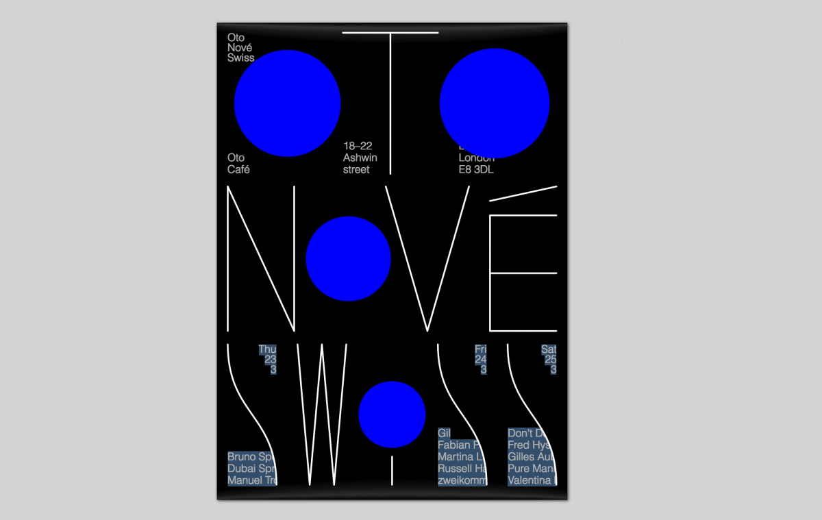 Poster design london - Studio Fexien S Superb Swiss Design Gets Interactive For New London Festival
