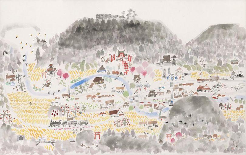 Memories of Tsuwano (Tsuwano no kioku) (Courtesy of Anno Art Museum)