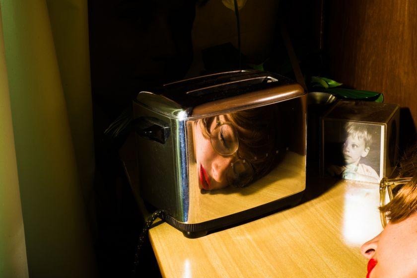 Franco Klein, Toaster (self-portrait), 2016