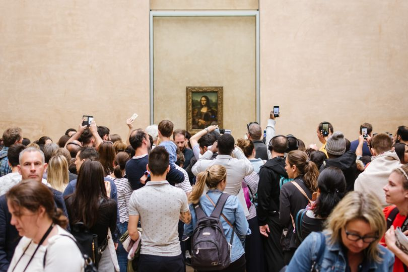 The Mona Lisa by Remus Daescu. © Remus Daescu, Romania, Shortlist, Open, Culture (Open competition), 2019 Sony World Photography Awards