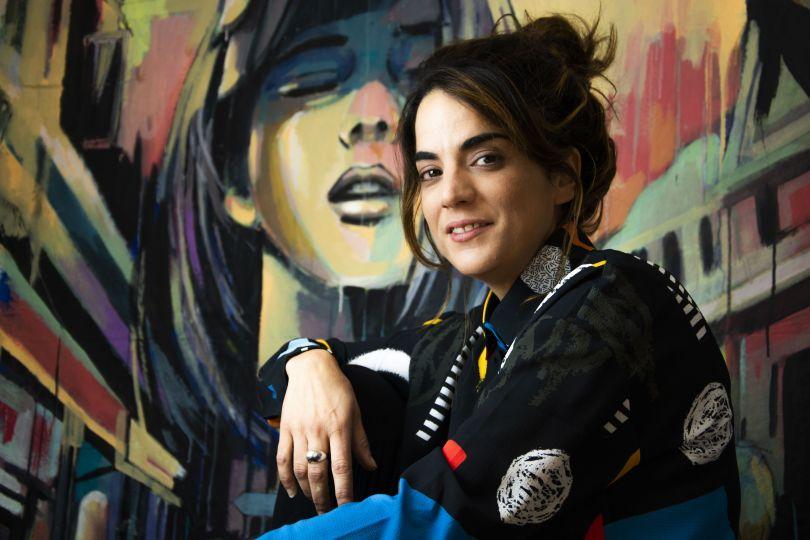 Alice Pasquini. Image credit: Accursio Graffeo
