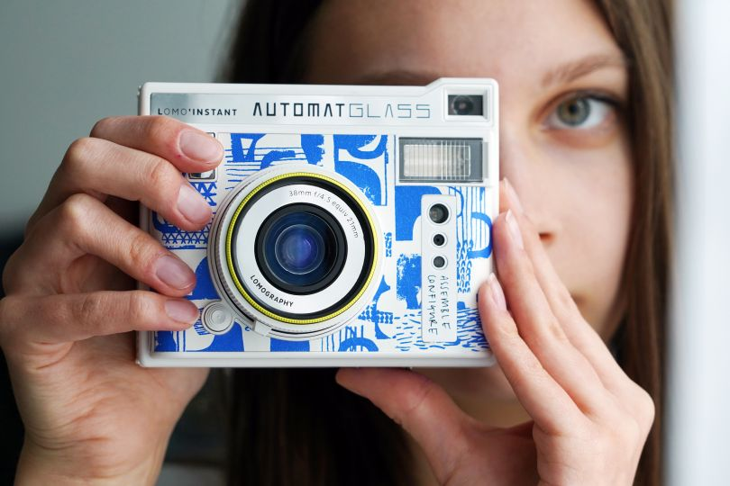 Instant Camera with exclusive design by Laura Slater and Lomography
