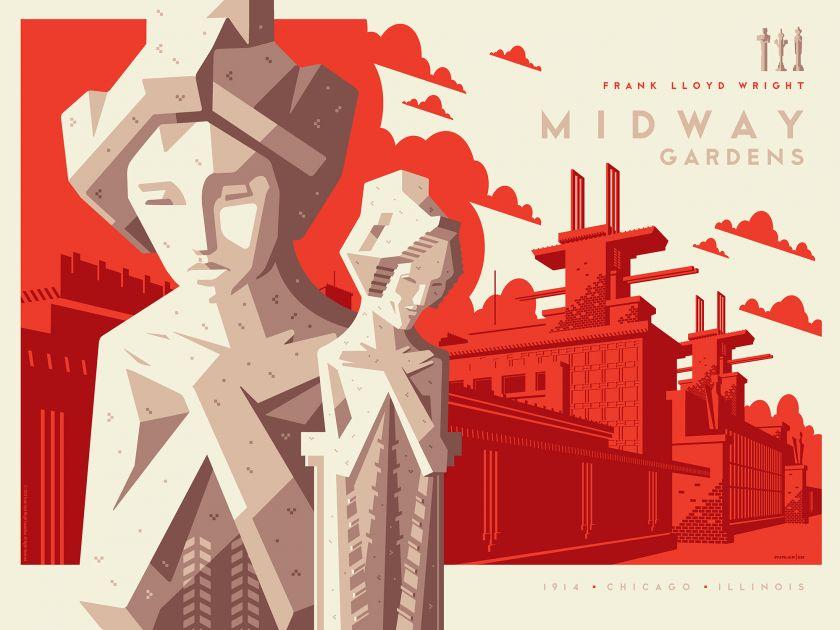 Midway Gardens © Tom Whalen