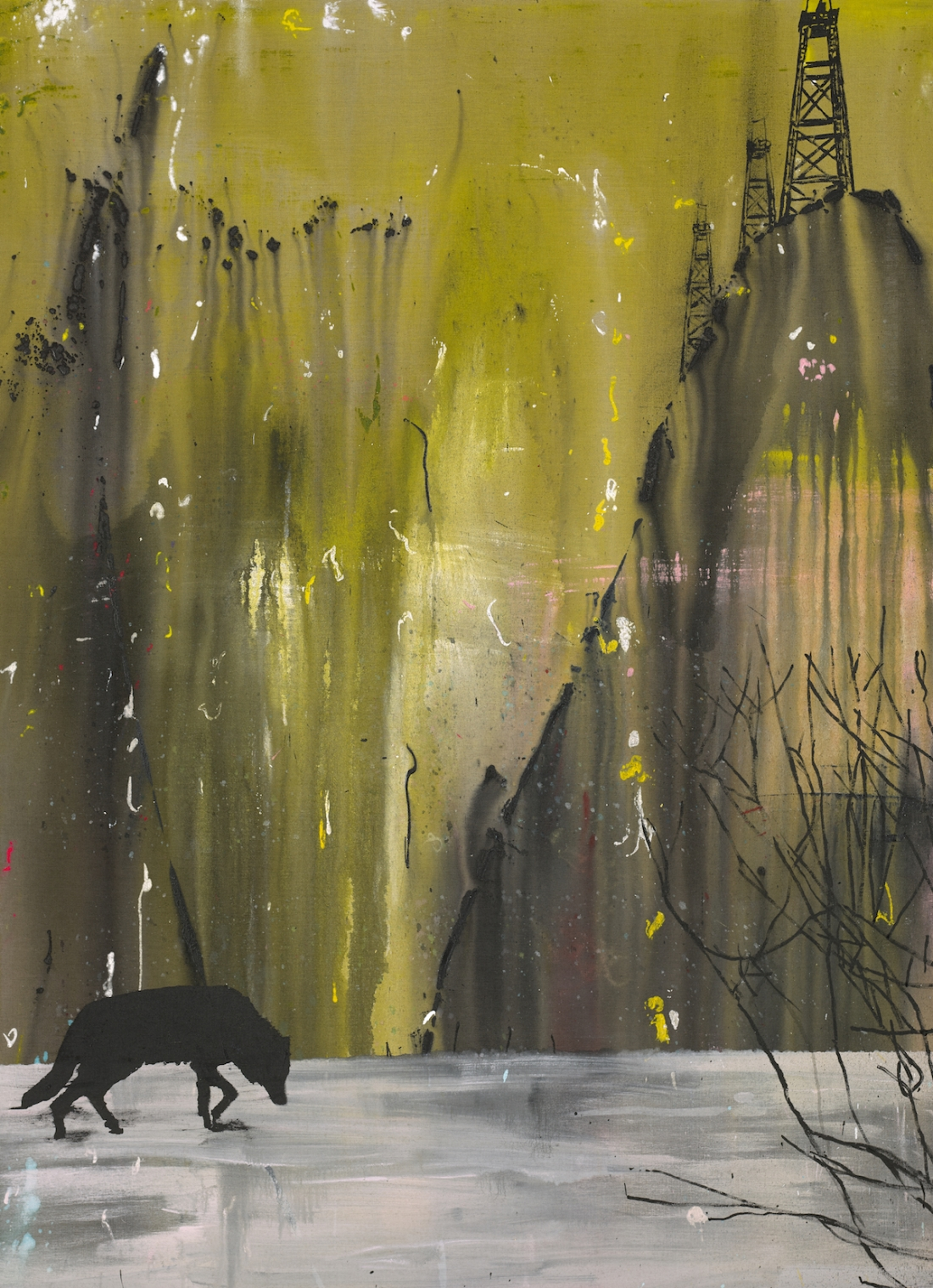 Lone Wolf | Dan Baldwin | Maddox Gallery
