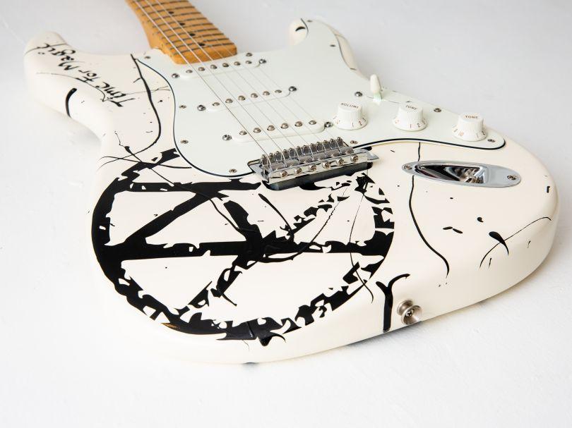 Guitar by Jamie Reid. Image © Louise Haywood-Schiefer