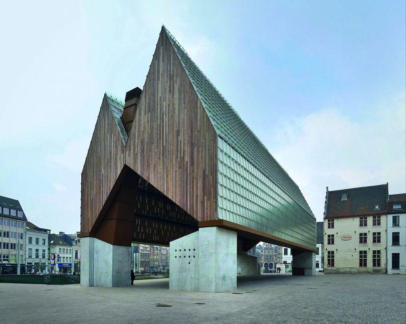 Market Hall, Ghent, Belgium, Marie-José Van Hee and Robbrecht & Daem, 2012. Picture credit: Klaas Vermaas