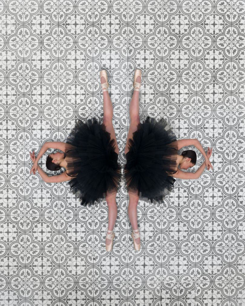 From the series, Ballerina From The Air © Brad Walls