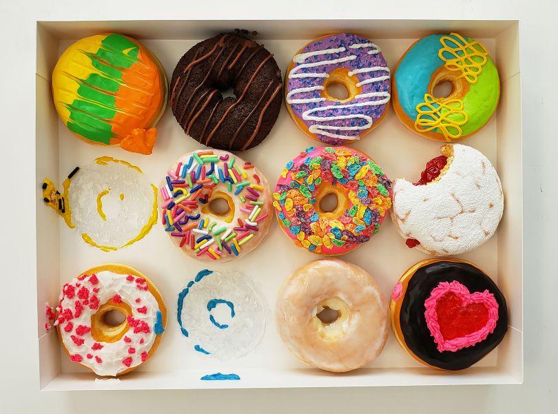 Super Donuts, 2020 © Peter Anton